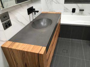 Polished Concrete Basin Newcastle NSW