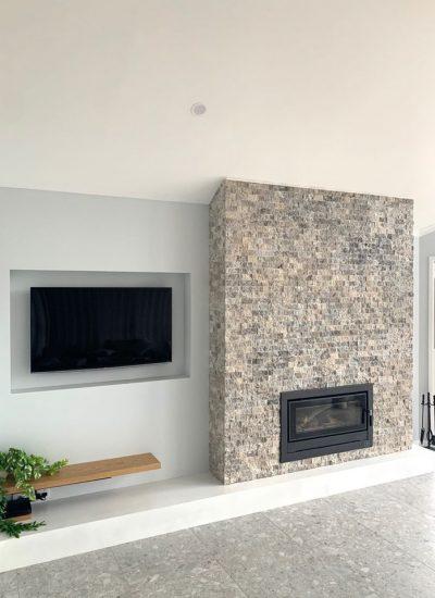 Concrete Fire Place